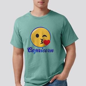 Emoji Capricorn Horoscop Mens Comfort Colors Shirt