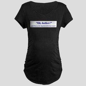 3-Pooh_shirt_1 Maternity T-Shirt
