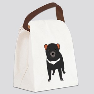 Tasmanian Devil Canvas Lunch Bag