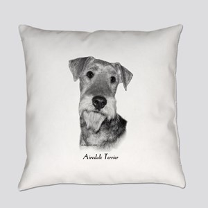 Airedale Terrier Everyday Pillow