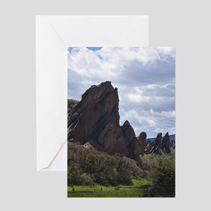 Flatirons and Oils Greeting Cards