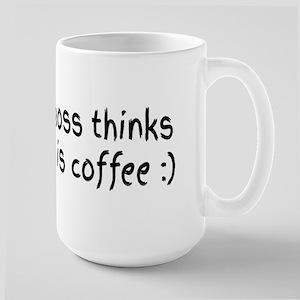 My boss thinks this is coffee Mugs
