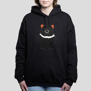 Tasmanian Devil Women's Hooded Sweatshirt
