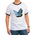Blue Moth Ringer T