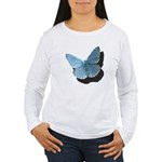 Blue Moth Women's Long Sleeve T-Shirt