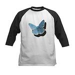 Blue Moth Kids Baseball Jersey