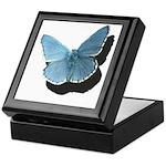 Blue Moth Keepsake Box