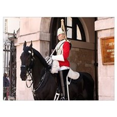 Royal Household Cavalry Guard Poster