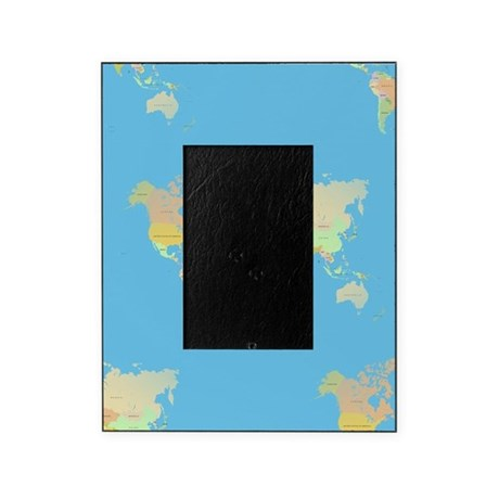 world map picture frame by admin cp13506533. Black Bedroom Furniture Sets. Home Design Ideas