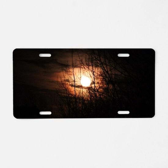 Samhain Harvest Aluminum License Plate