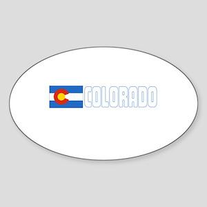 Colorado Oval Sticker