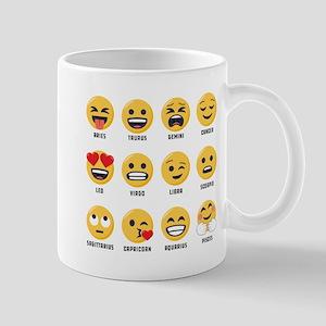 Emoji Horoscopes 11 oz Ceramic Mug