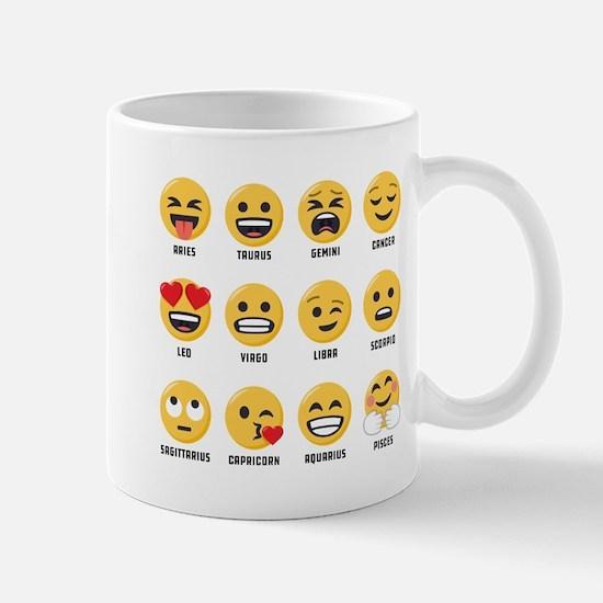 Emoji Horoscopes Small Mugs