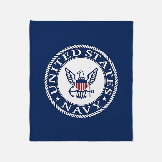 United States Navy Throw Blanket