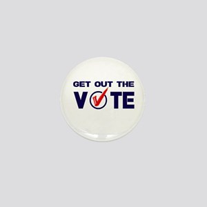 GET OUT THE VOTE Mini Button