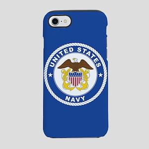 U.S. Navy Emblem iPhone 8/7 Tough Case