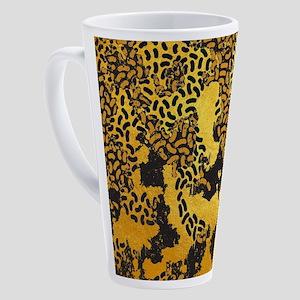 Abstract safari animal print 17 oz Latte Mug