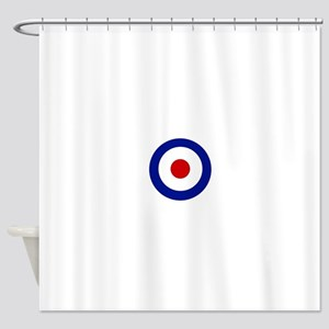 Mod Target Shower Curtains