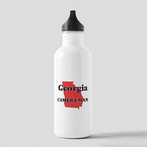 Georgia Camera Man Stainless Water Bottle 1.0L