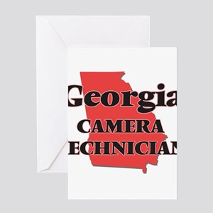 Georgia Camera Technician Greeting Cards