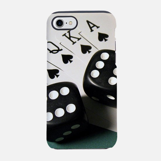 Cards And Dice iPhone 8/7 Tough Case