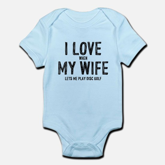 I Love My Wife - Disc Golf Body Suit