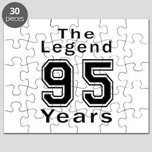 95 Legend Birthday Designs Puzzle