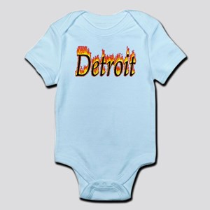 Detroit Flame Body Suit