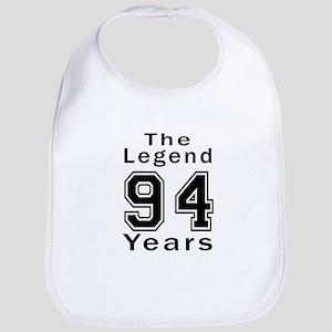 94 Legend Birthday Designs Bib