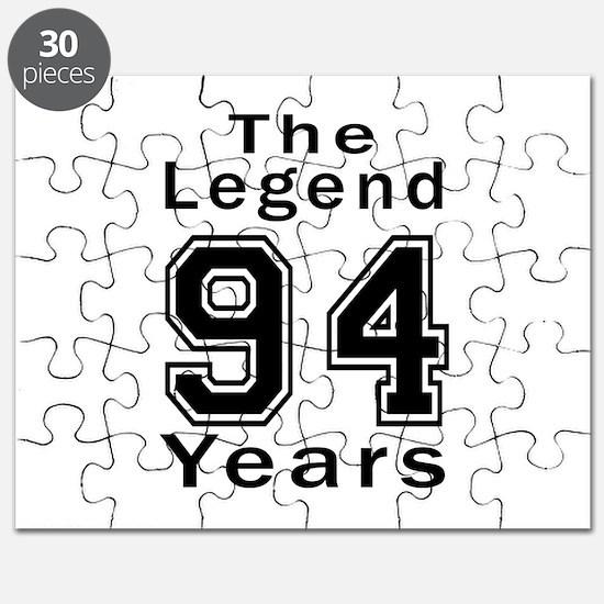 94 Legend Birthday Designs Puzzle