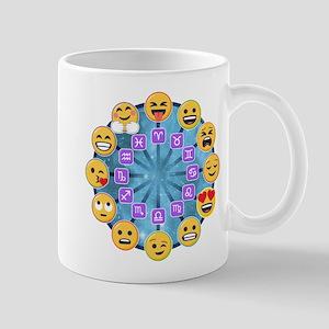 Emoji Circle Horoscopes 11 oz Ceramic Mug