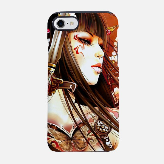 Geisha iPhone 8/7 Tough Case
