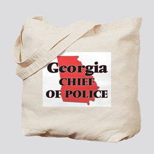 Georgia Chief Of Police Tote Bag