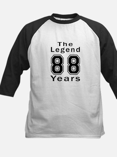 88 Legend Birthday Designs Kids Baseball Jersey