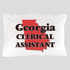 Georgia Clerical Assistant Pillow Case