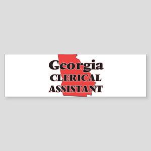 Georgia Clerical Assistant Bumper Sticker