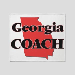 Georgia Coach Throw Blanket
