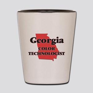 Georgia Color Technologist Shot Glass