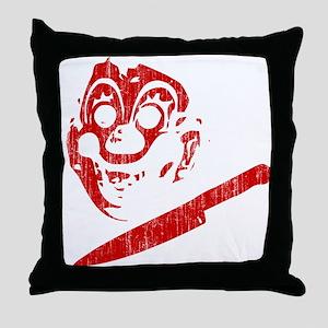 Michael Myers Clown Mask Throw Pillow