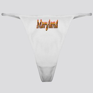 Maryland Flame Classic Thong