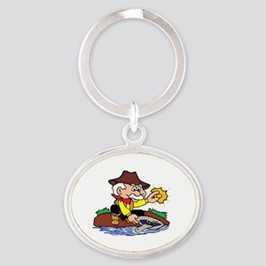 NWMPC Pappy Oval Keychain