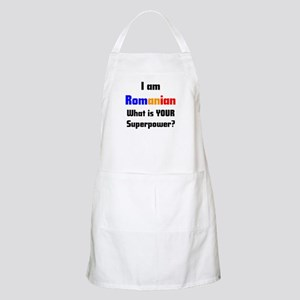 i am romanian Apron