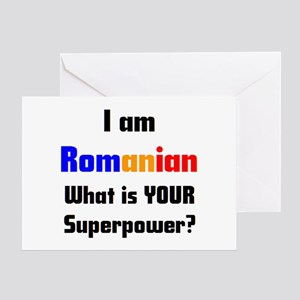 Romanian greeting cards cafepress i am romanian greeting card m4hsunfo