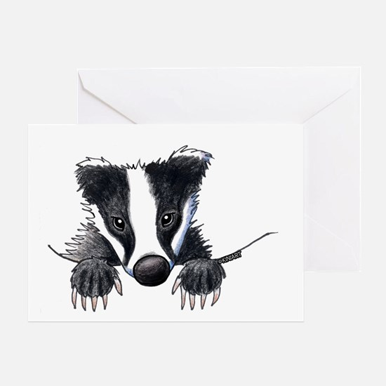 Pocket Badger Greeting Card