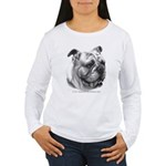 English Bulldog Women's Long Sleeve T-Shirt
