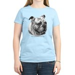 English Bulldog Women's Light T-Shirt