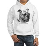 English Bulldog Hooded Sweatshirt