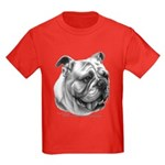 English Bulldog Kids Dark T-Shirt
