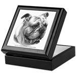 English Bulldog Keepsake Box