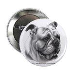 English Bulldog Button